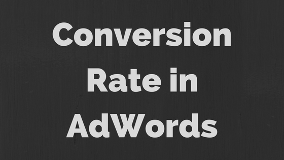 Conversion Rate