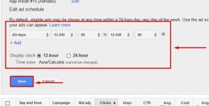 ad scheduling bid adjustments