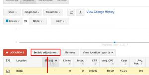 location based bid adjustments 4