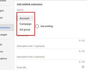 sitelink extensions 4