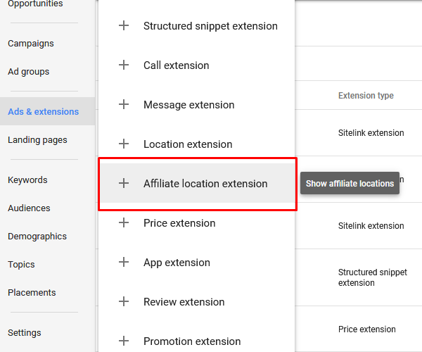 AdWords Updates 2017