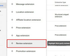 review extensions 3