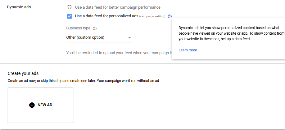 Dynamic Remarketing Campaigns 7