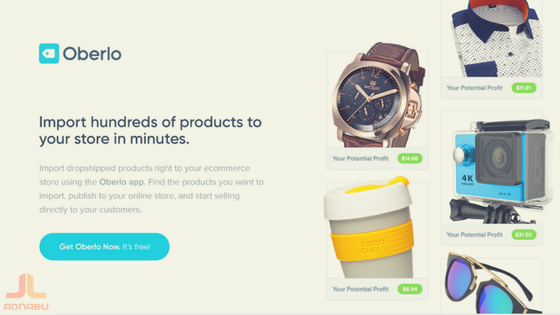 Oberlo - the best shopify apps of 2018