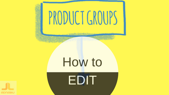 Product groups edit