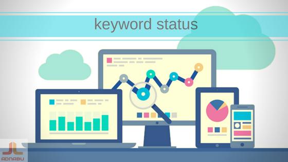 Keyword status google adwords