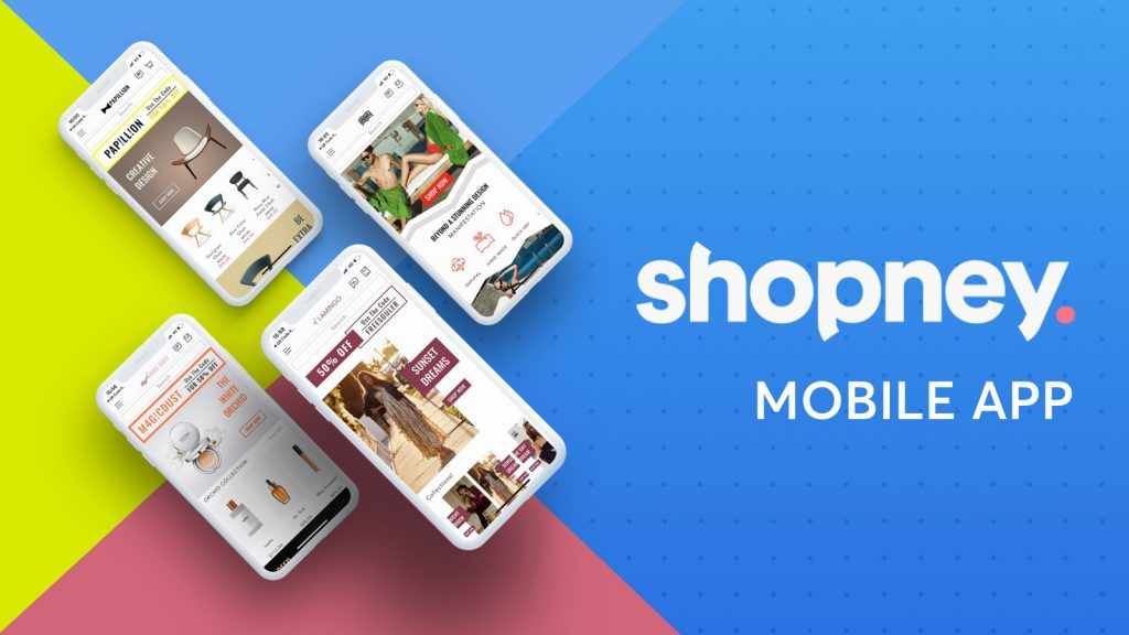 Shopney mobile app